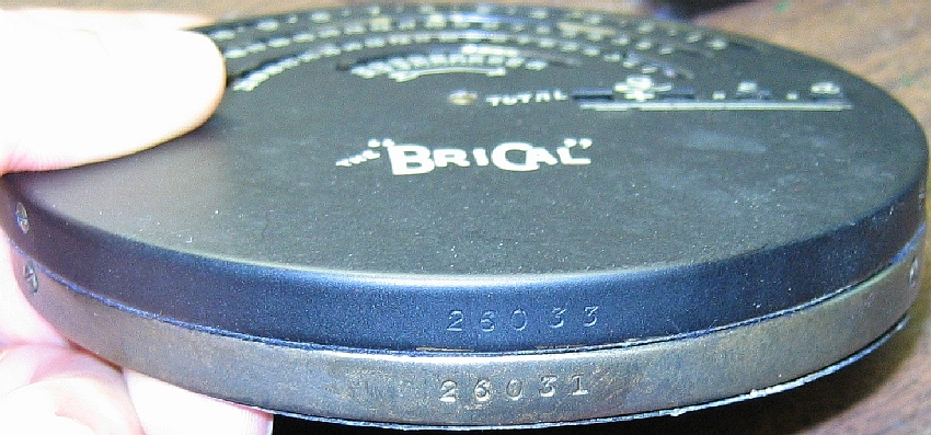 British Calculators BriCal for Compound Addition SN 26031 and 26033
