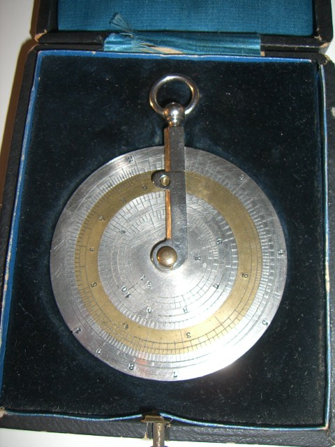 Unusual boxed Charpentier Calculimtre without Y cursor Obverse (source ebay.fr