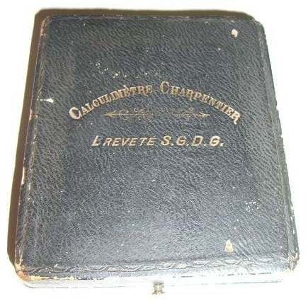 Unusual boxed Charpentier Calculimtre without Y cursor Case (source ebay.fr
