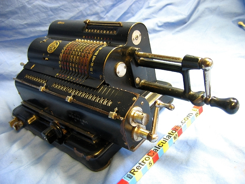 Tiger Japanese Mechanical Calculator Right Side circa 1940